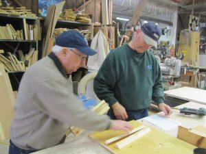 Simcoe Lions Building Birdhouses