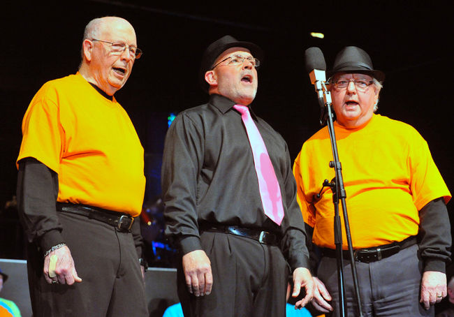 Don Daley, Barry Laplante, Keith Ashley